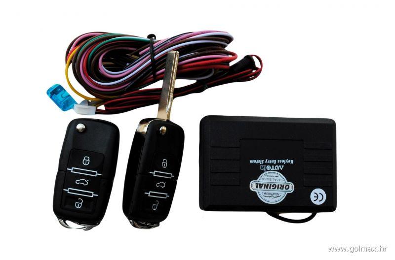 Daljinsko zaključavanje, ključ model za VW