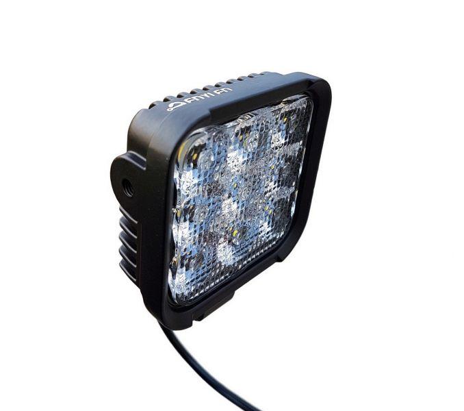 TANKA manja Kvadratna Lampa 9 LED X 3W, bijela (8,4 cm)