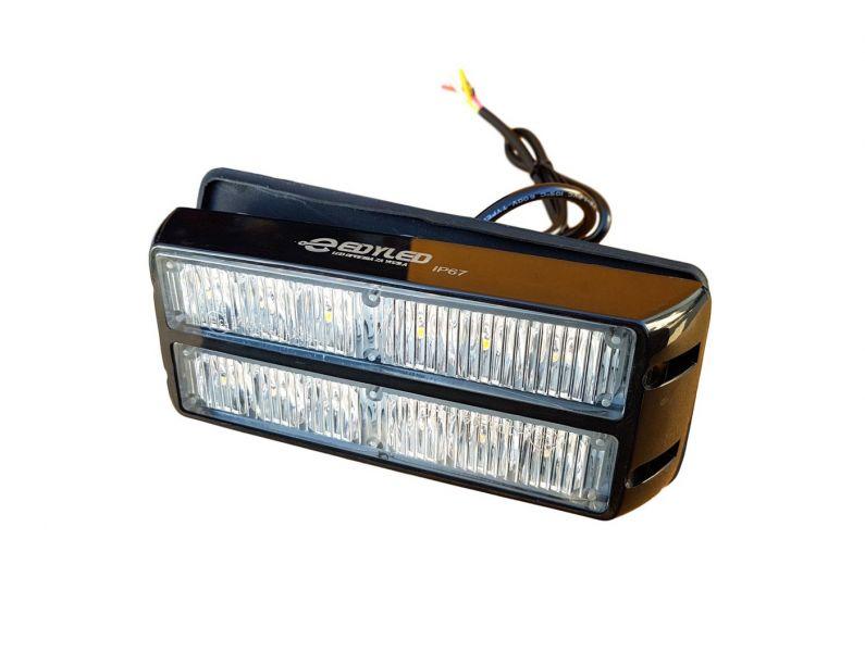 PLAVI 12-LED FLASH  16cm x 6,60 cm  3W