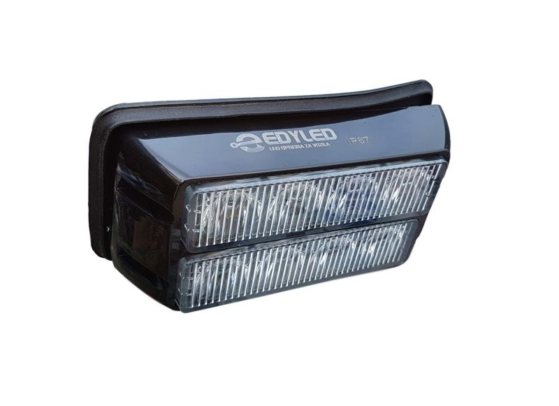 Plavi 8-LED FLASH 3W (13cm x6,5cm x 3cm)