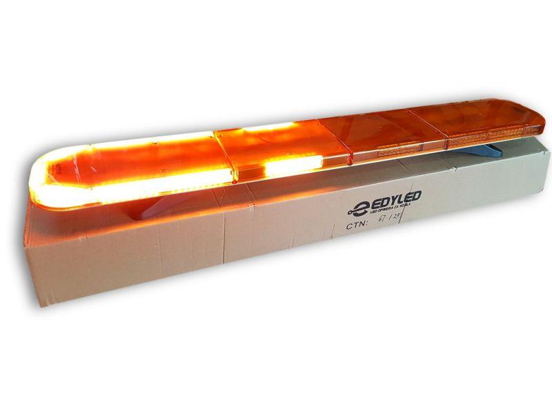 LED BAR Žuti 143 cm, tanji