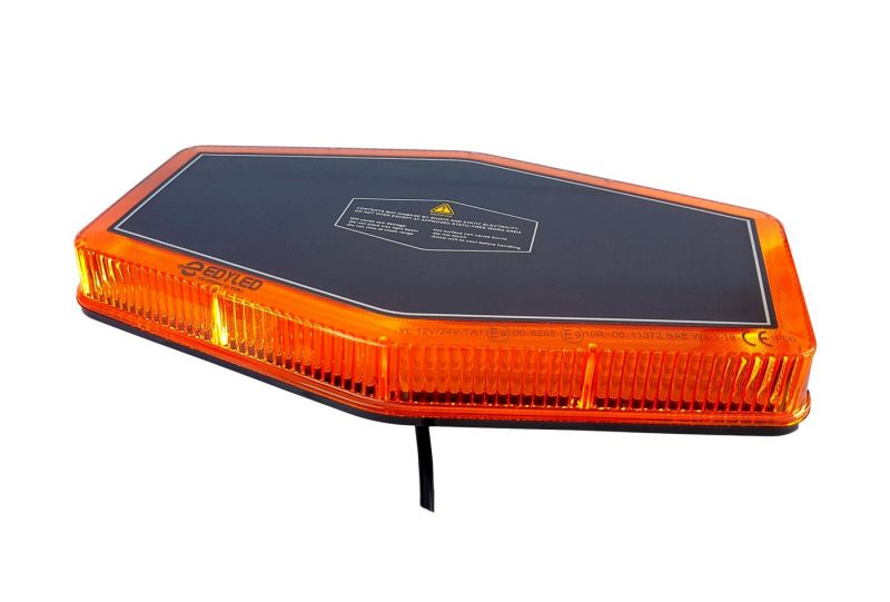 Žuti mini krovni LED bar 2 magnet-a  12/24V (novi model)