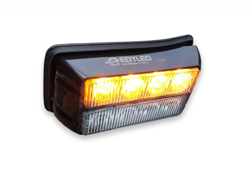 ŽUTI 8-LED FLASH  3W  (13cm x6,5cm x 3cm)