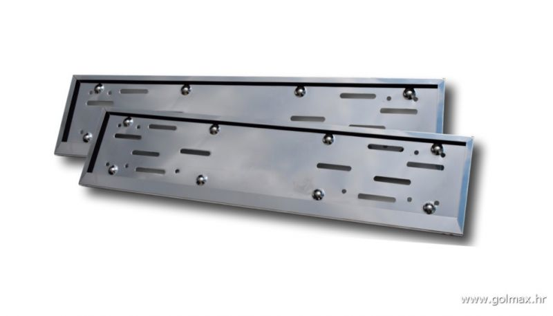 INOX Krom ravni nosači tablica