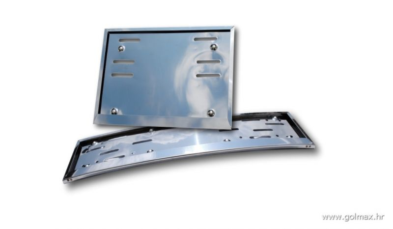 INOX KROM nosači tablica za đipove (ravni + zakrivljeni)