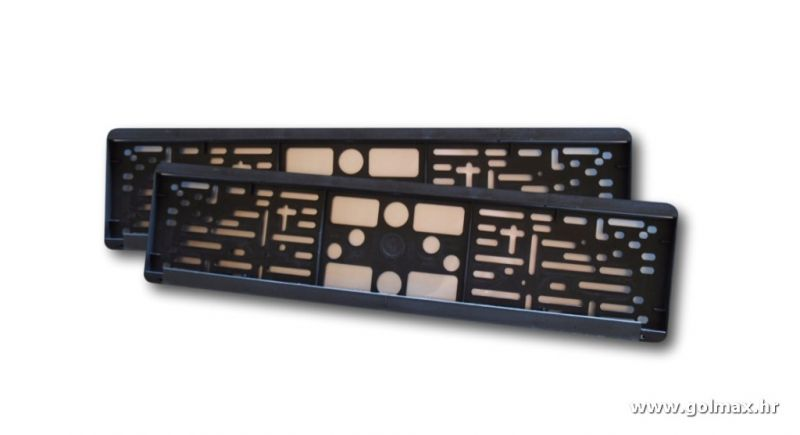 PVC nosači tablica