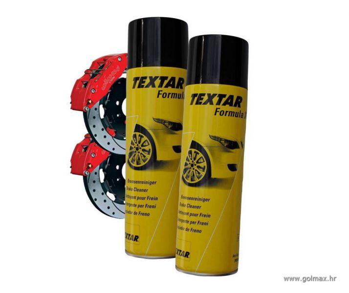 Sprej za čišć. kočnica, karburatora, kvačila TEXTAR 500 ml