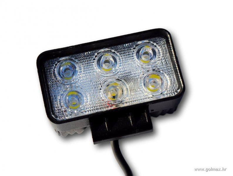 LED Lampa manja 12-24V, 18 Watt