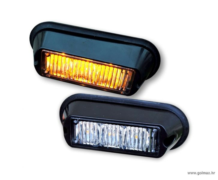 3-LED 9 Watt FLASH za masku vozila 12/24V