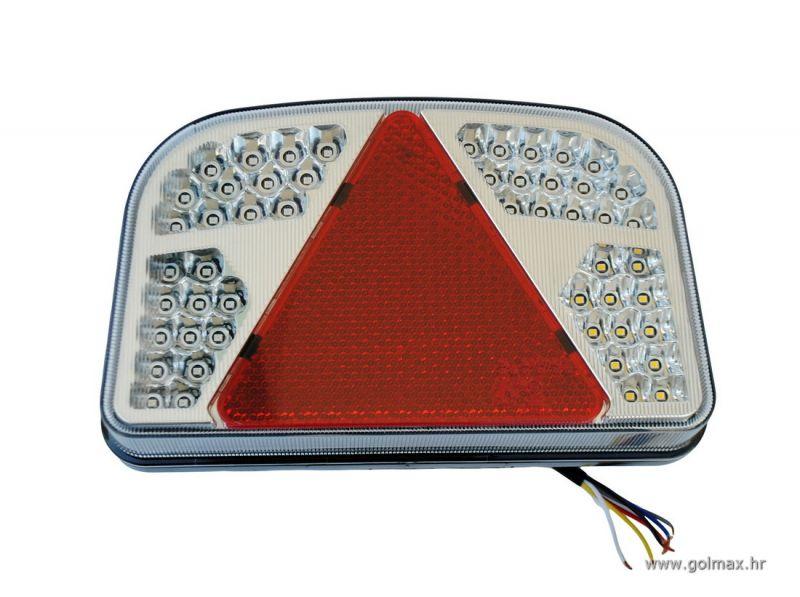 LED Lampa sa trokutom 12V NOVO  Golmax doo  auto oprema -> Led Lampe Za Auto