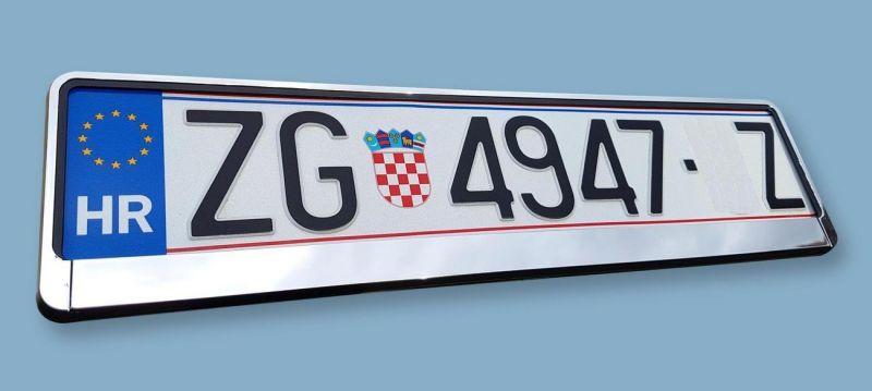 PVC okvir tablica KROM A-model