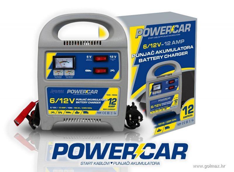 Powercar Punjač Akum. 12-AMP