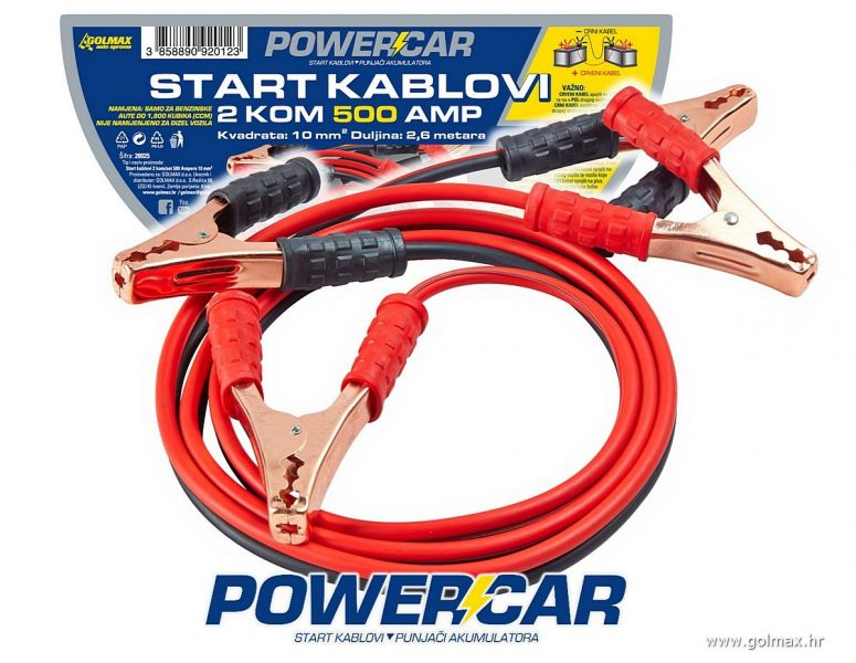 Start Kablovi 500 AMP 10mm2