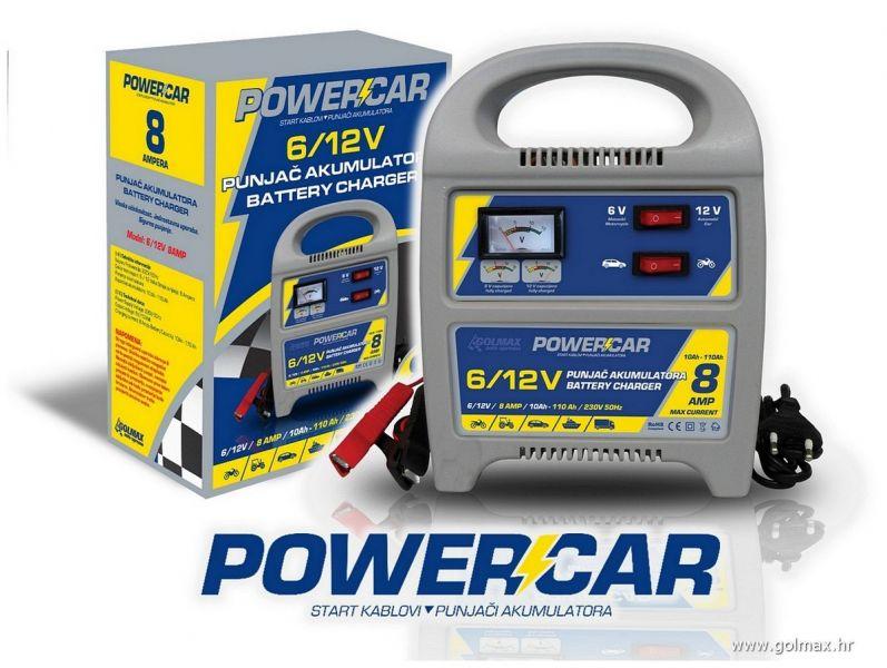 Powercar Punjač Akum. 8-AMP