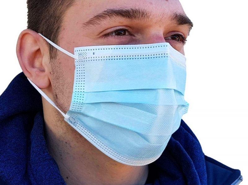 Jednokratna zaštitna maska troslojna , nova serija, niža cijena  (troslojna)