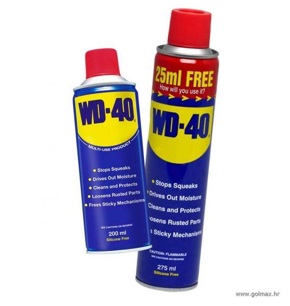 WD-40 sprej 200 ml i 275 ml