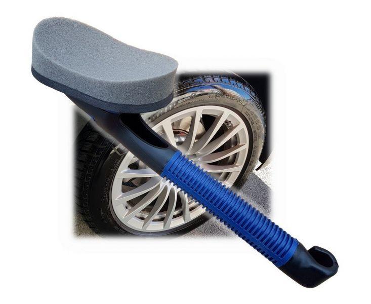 Spužva + drška za sjaj auto guma