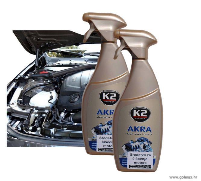 Čistač motora vozila  K2 sprej 700 ml