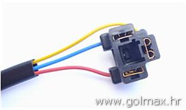 H4 utičnica + 3 žice