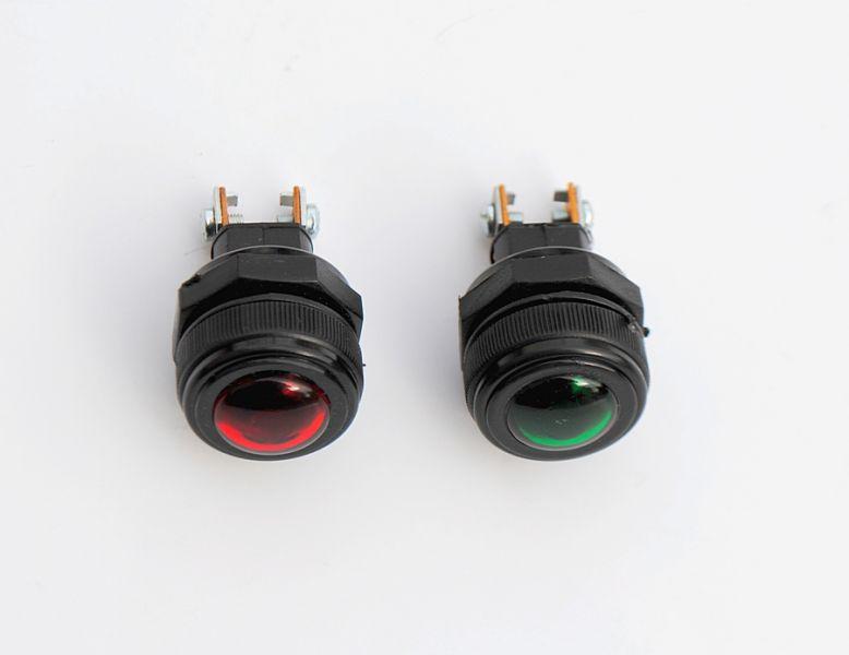 Signalna lampica crvena ili zelena