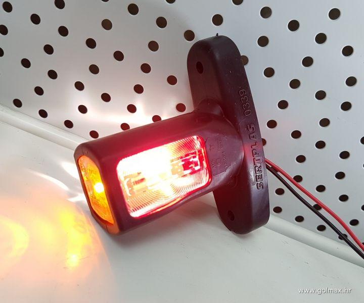 LED kratka gabarit lampa 12/24V