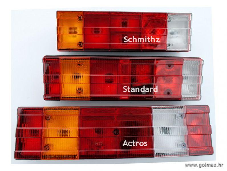 Mercedes Lampe: Actros, Schmithz
