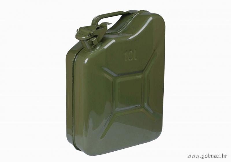 Karnister za gorivo metalni 10L