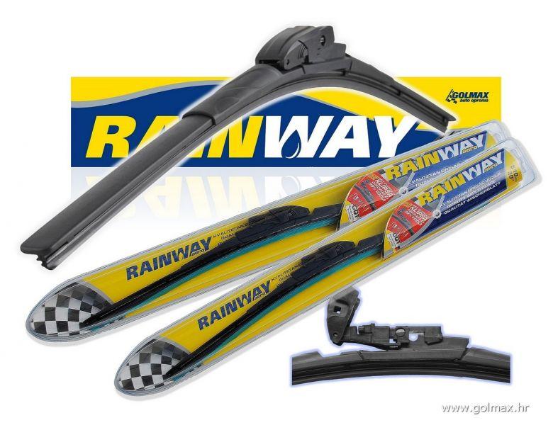 RAINWAY kvalitetni Aero brisači *novo*