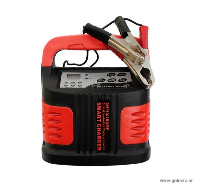 Digitalni Punjač Akumulatora 2-15 AMP 12V