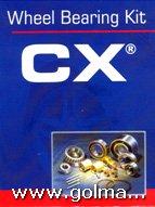 CX Ležaji kotača (garnitura)