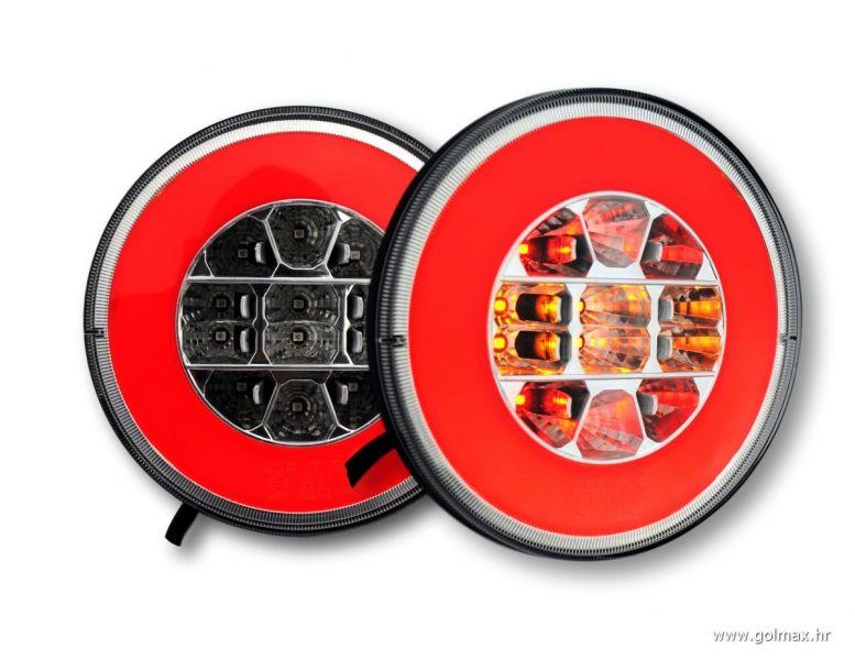 Okrugla LED lampa novi tip 1224V  Golmax doo  auto oprema # Led Lampe Za Auto