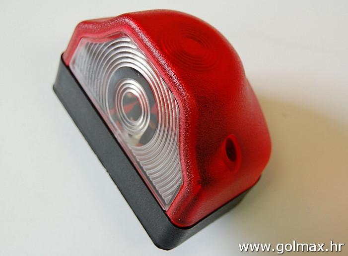 Svjetlo za registr. crveno