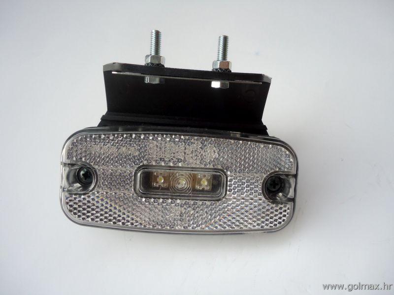 Pozicijsko Svjetlo 3 LED Bijelo 24V
