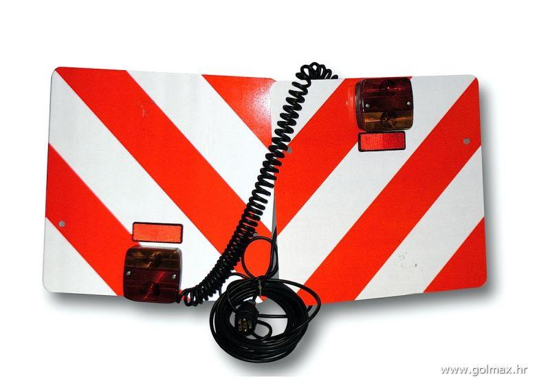 Reflektirajuće ploče + lampe + kabel set