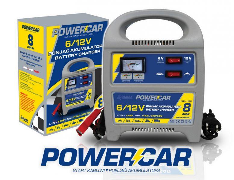 Punjači akumulatora POWERCAR *novo*